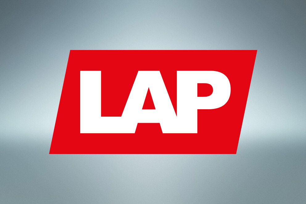 LAP unveils new corporate design and new website