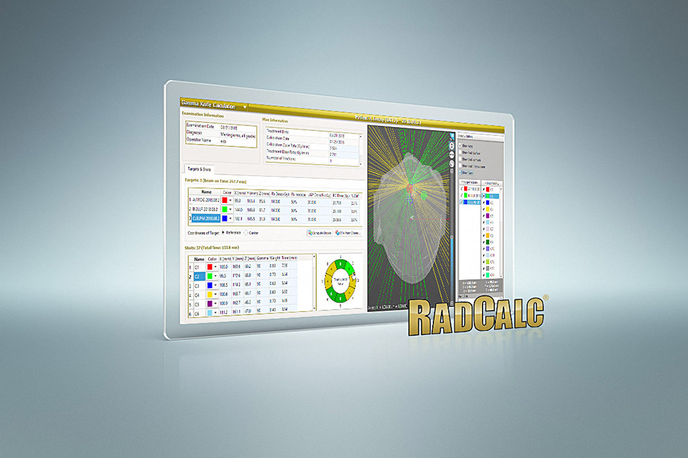 RadCalc now with Gamma Knife Module