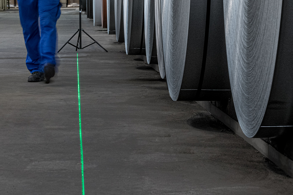 White paper: Projection lasers for area marking