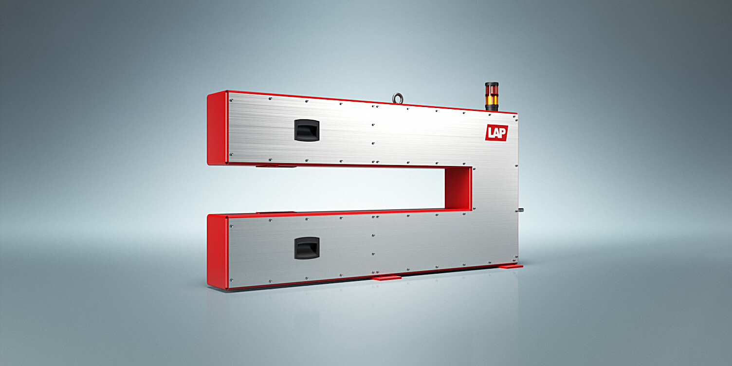 The Calix XL uses laser technology to measure the thickness of strip steel and sheet metal inline and contactless.
